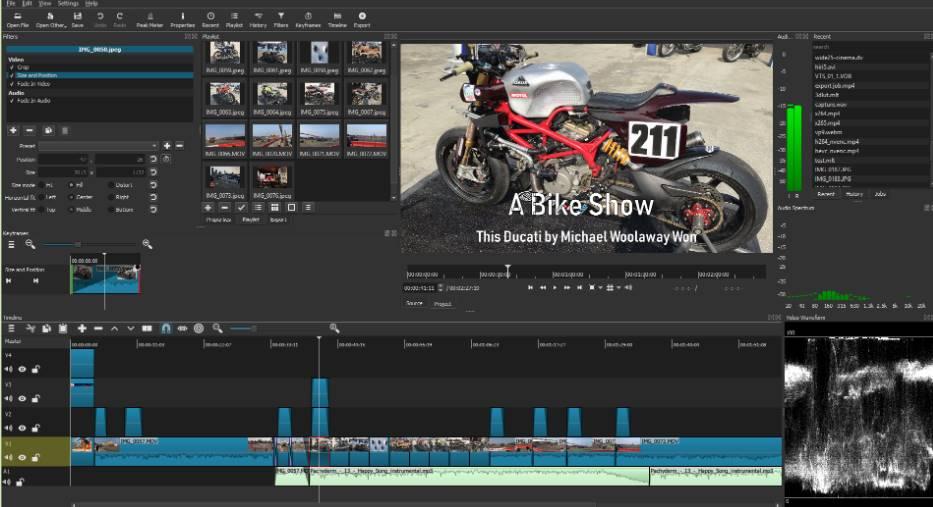 shotcut video editor image