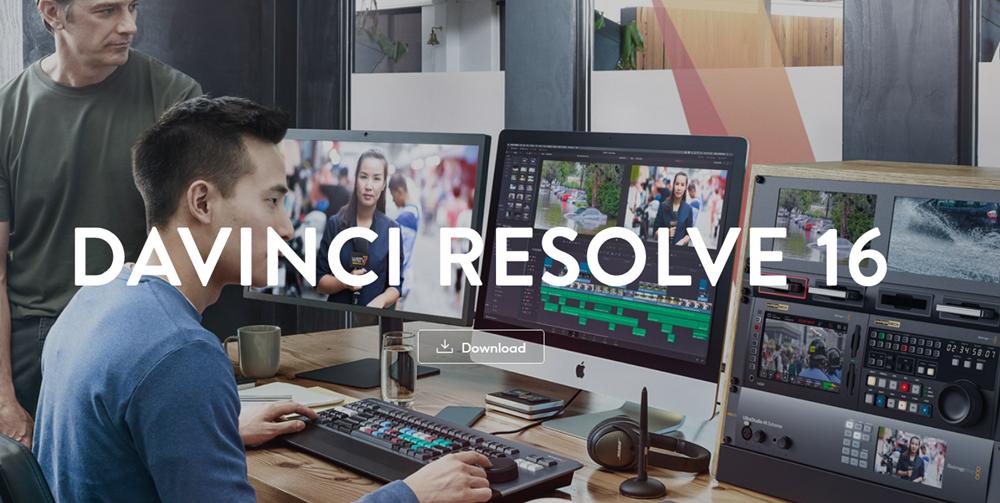 DaVinci Resolve video editor image