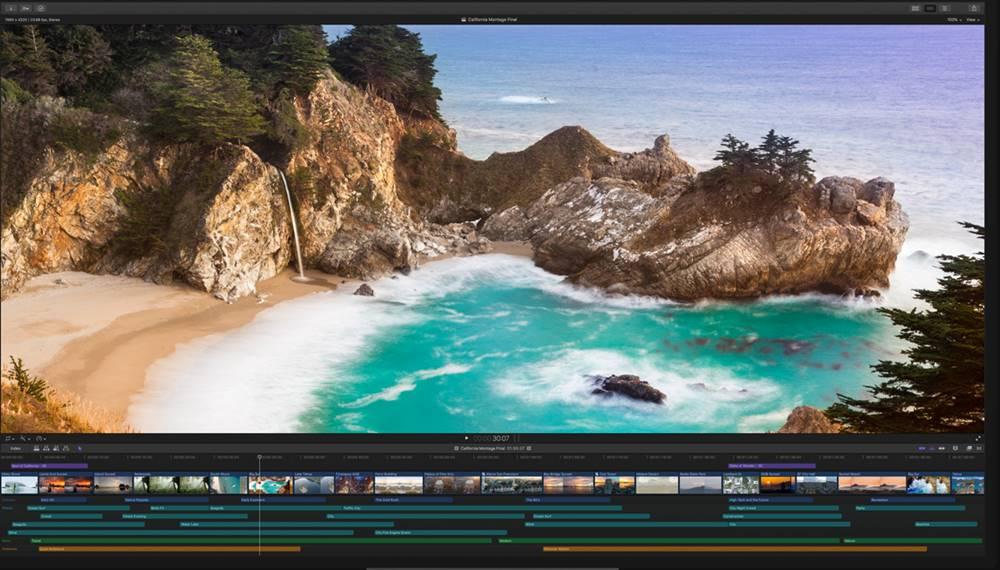 Final Cut Pro X video editor image