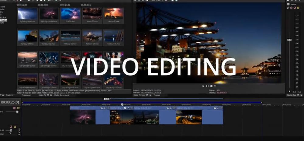Vegas Pro 17 Youtube Video editor image