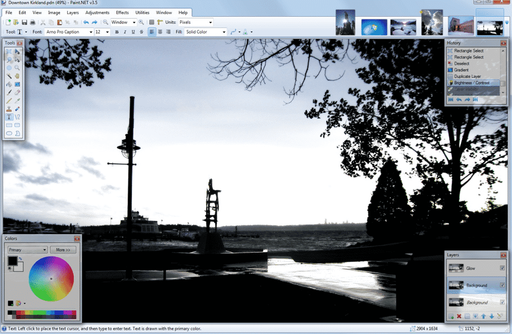 paint.net photo editor image